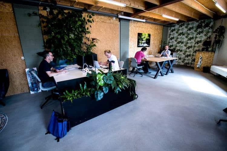 Gedeelde flexibele werkplekken in Tilburg