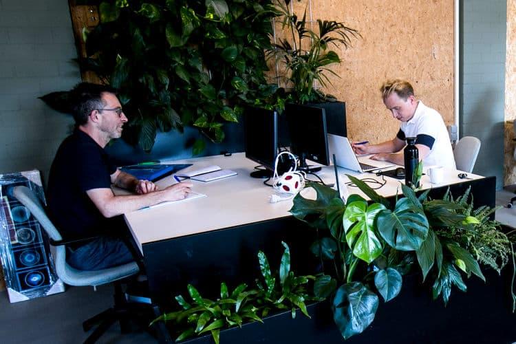 Groene werkplekken