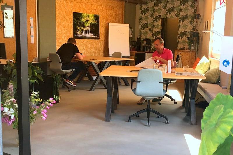Flexibele werkplek en kantoorruimte